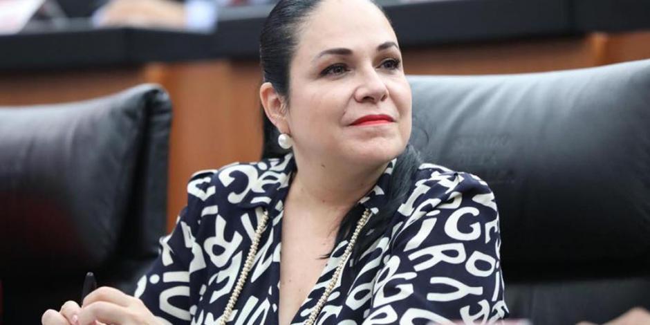 Mónica Fernández, nueva presidenta de la Mesa Directiva del Senado