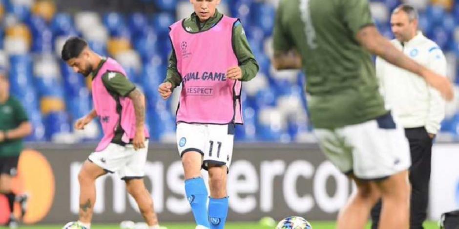 El argentino Javier Zanetti defiende de críticas a Hirving Lozano