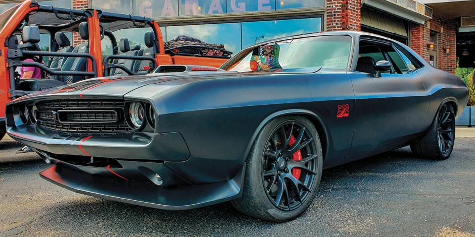 Shakedown Challenger: 485 HP y motor V8