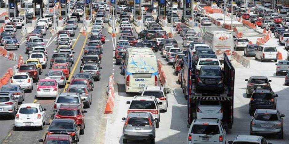 En inicio de vacaciones, la México-Cuernavaca es la que registra más salidas