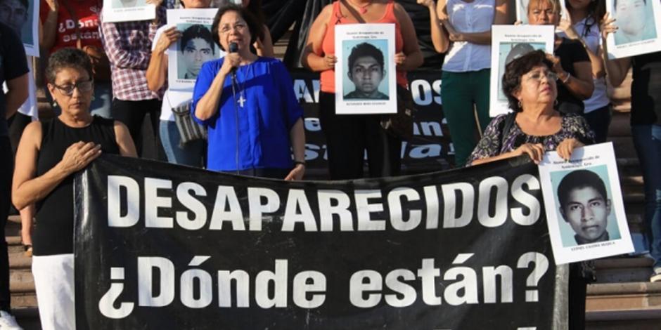 Gobierno de México apoyará en la búsqueda de 40 mil desaparecidos