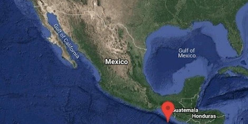 Sismo de 6.3 grados sacude frontera sur; perceptible en Chiapas, Tabasco y Oaxaca