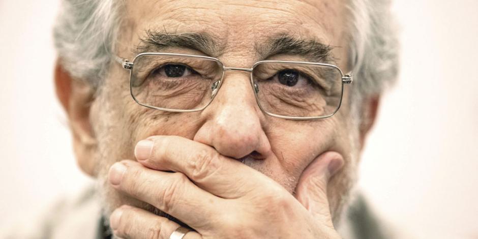 MeeToo calla y envuelve en polémica a Plácido Domingo