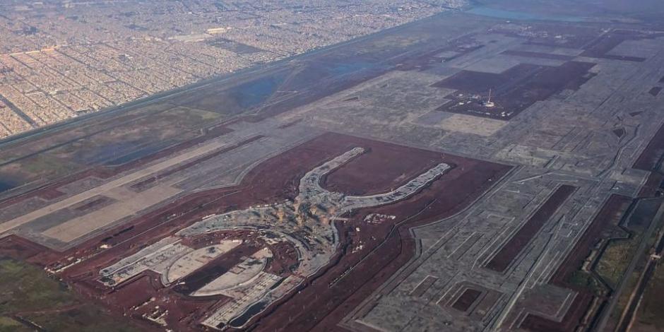 SCT liquida contrato para construcción de terminal del NAIM