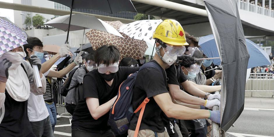 Ley antiautonomía de Hong Kong, en standby