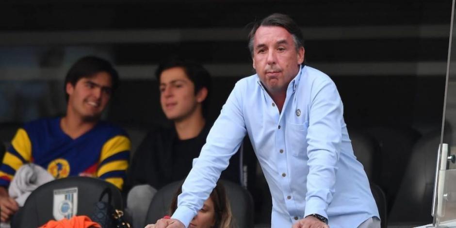 Emilio Azcárraga, dueño del América, agradece a su afición y destaca grandeza