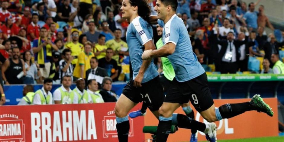 Uruguay arrebata a Chile primer lugar del Grupo C en Copa América