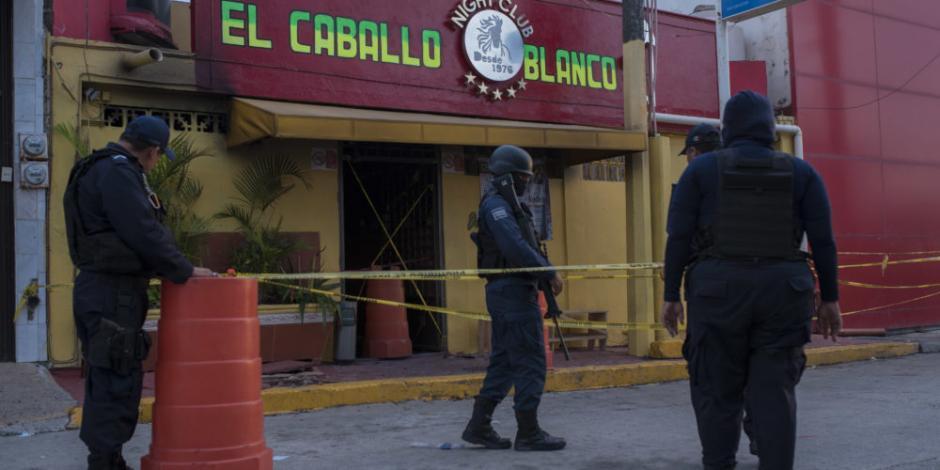 Sube a 29 el número de muertos por ataque en antro de Coatzacoalcos