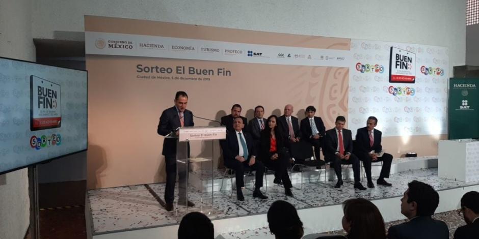 Sortea SAT 500 mdp entre participantes del Buen Fin 2019