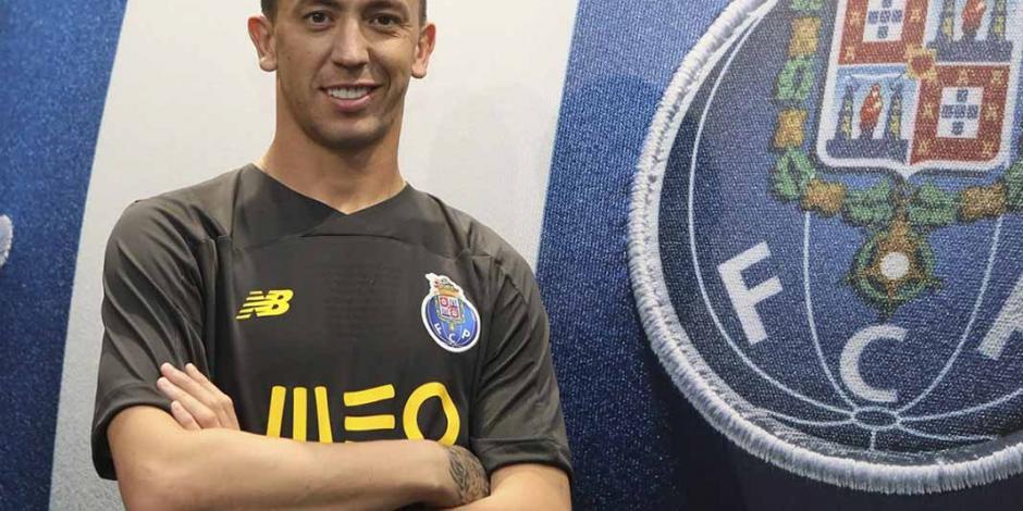 Fotos: Marchesín fue presentado como portero del Porto