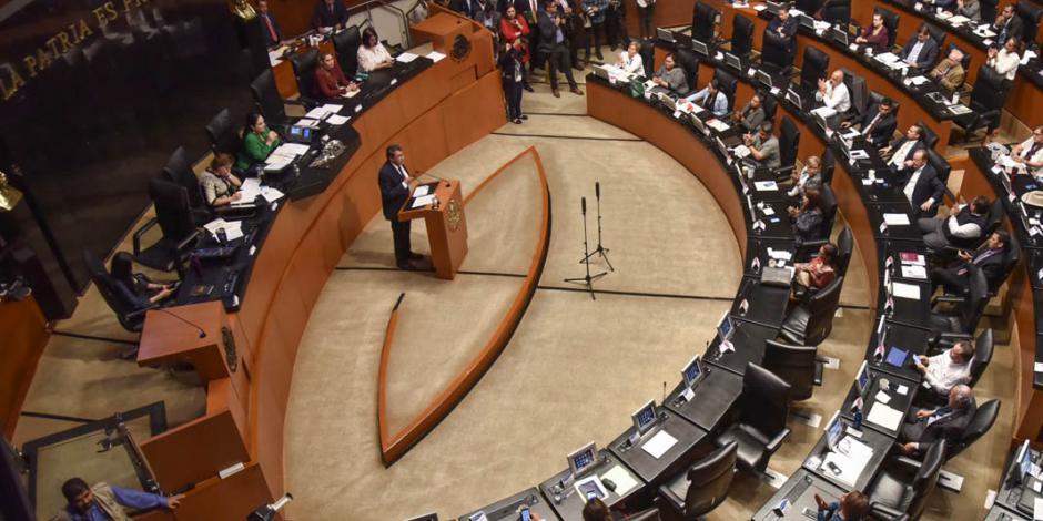 ...Y Senado recibe oficio del extitular del IMSS para reincorporarse como legislador