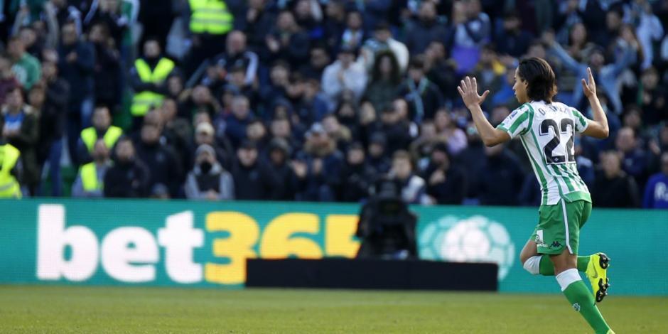 El mexicano Diego Lainez y Real Betis vence 3-2 al Girona
