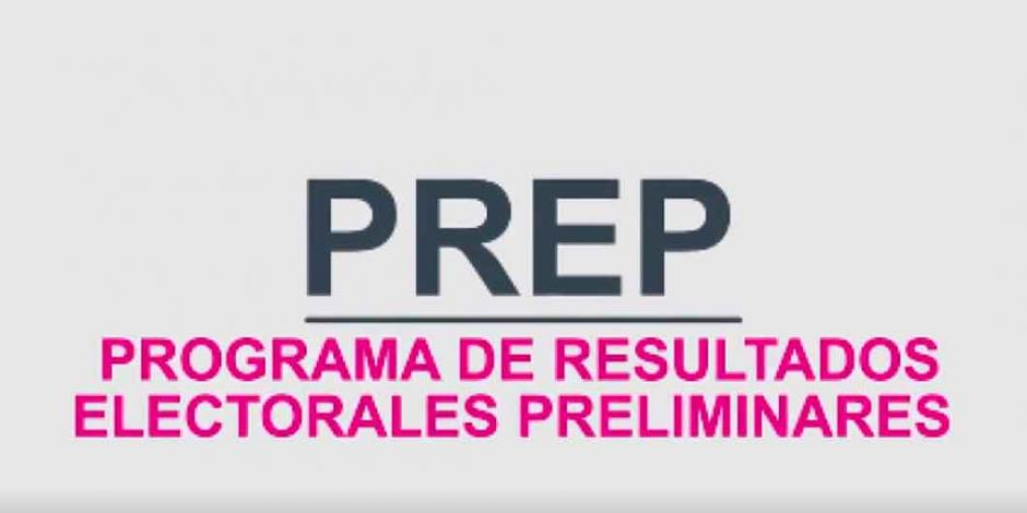 Resultados preliminares (PREP) Aguascalientes