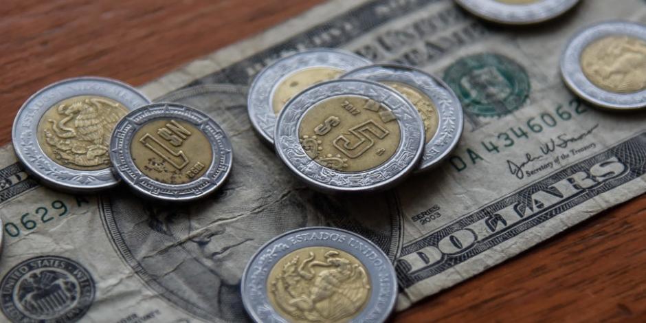 Peso retoma su racha alcista y el dólar baja hasta $18.91