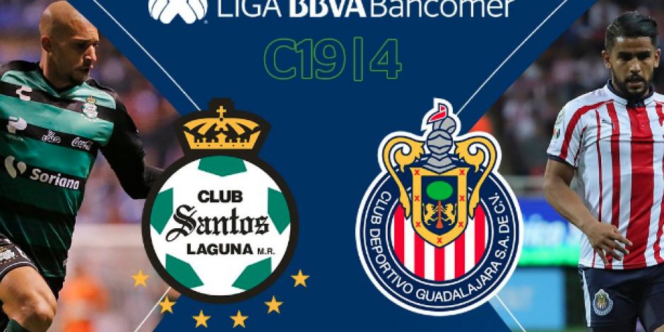 SANTOS vs CHIVAS: Dónde ver el juego, previo fecha 4, Liga MX