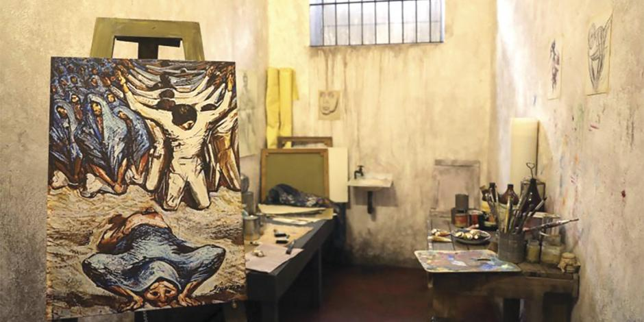 Muestran al Siqueiros luchador social… en Lecumberri