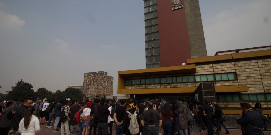 Este lunes regresan a clases la totalidad de alumnos de la UNAM