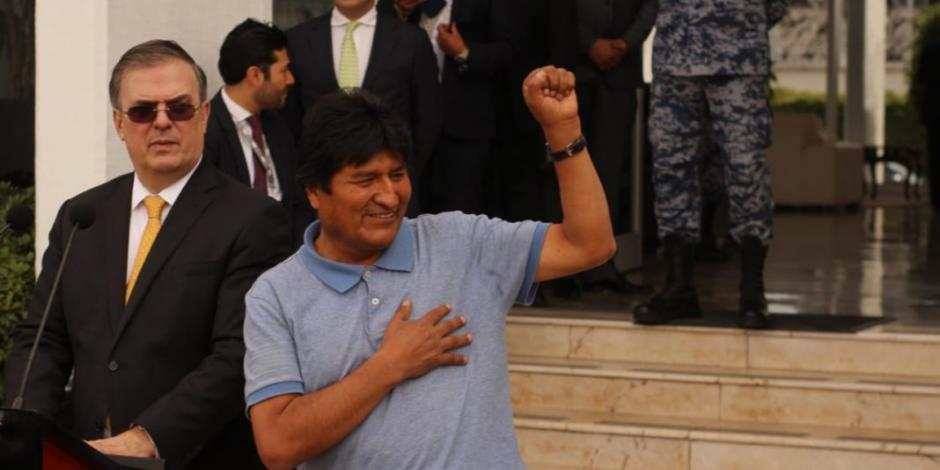 El presidente de México me salvó la vida: Evo Morales