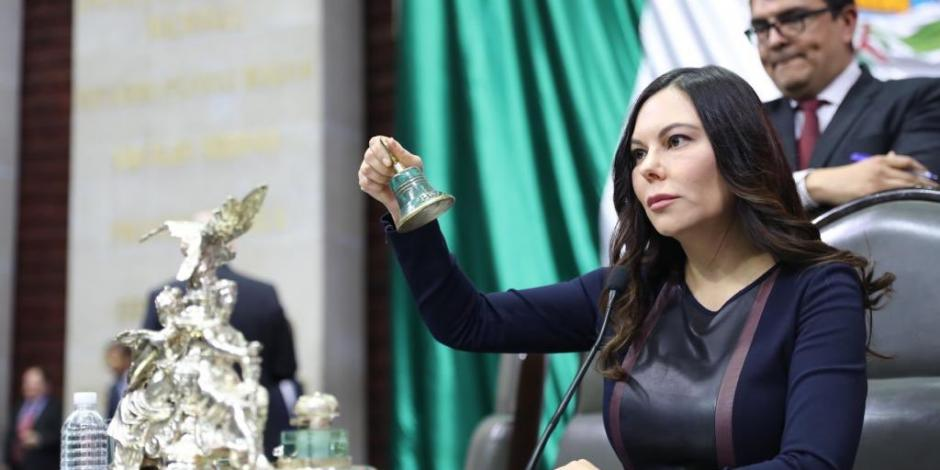 Laura Rojas rechaza que se reserve información sobre Santa Lucía