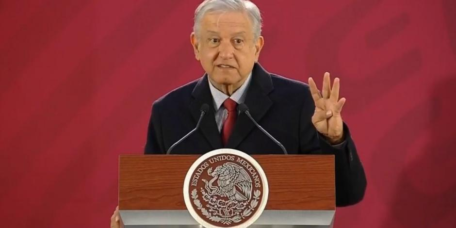 Andrés Manuel López Obrador y su mañanera del 18 de enero