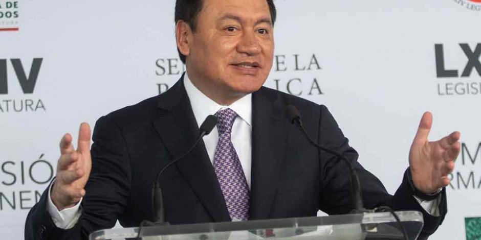 Sorprende a Osorio Chong renuncia de Medina Mora
