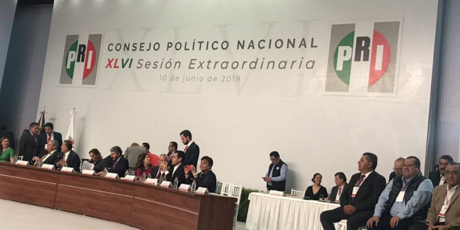 PRI inicia renovación de dirigencia; estima gastar 100 mdp