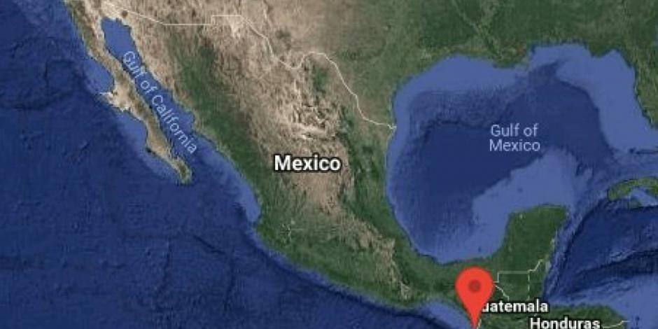 Se registra sismo de 5.5 grados en Chiapas