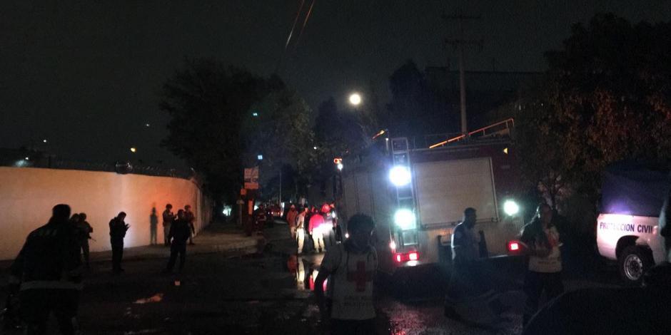'Flamazo' en toma clandestina de combustible deja 6 heridos en Iztacalco