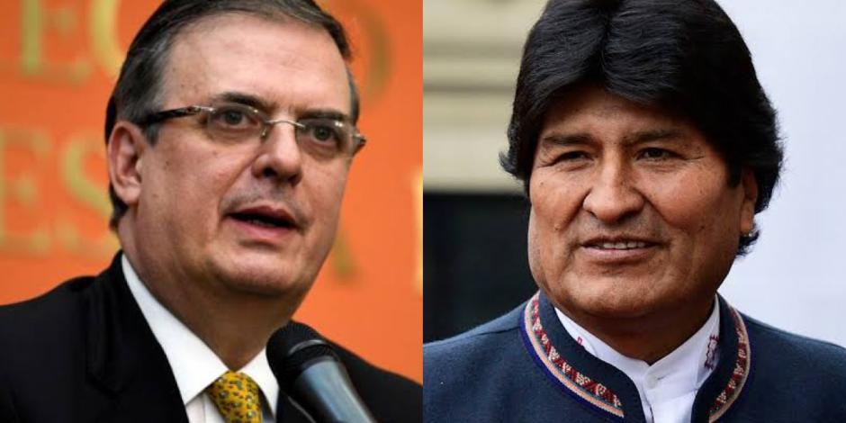 México otorgará asilo político a expresidente Evo Morales, confirma Marcelo Ebrard