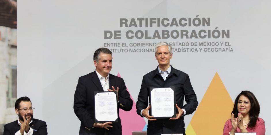 Anuncia gobierno del Edomex apoyo a Inegi para un censo exitoso