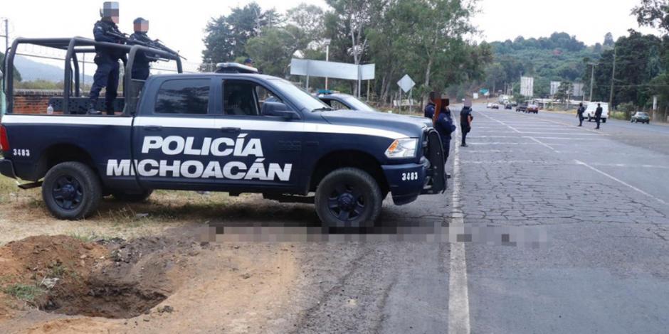 Por ejecuciones en Uruapan, SSP de Michoacán despliega operativo