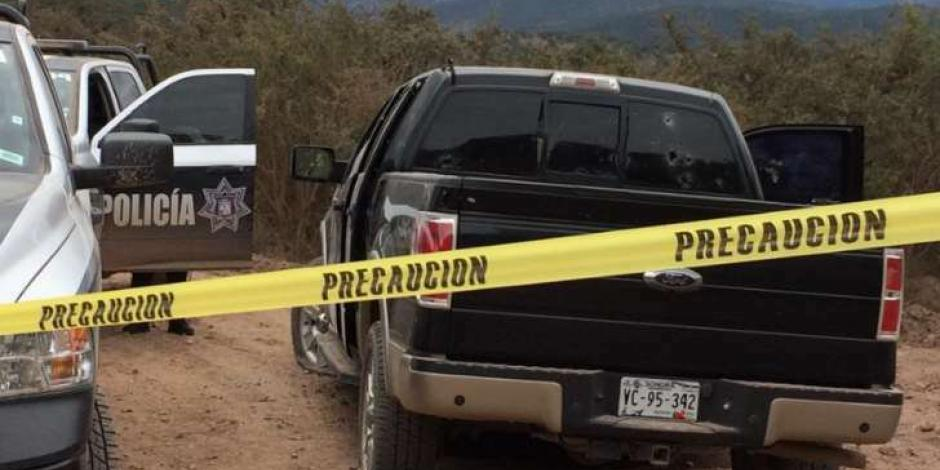 Ataque armado en sierra de Sonora deja un muerto y un herido