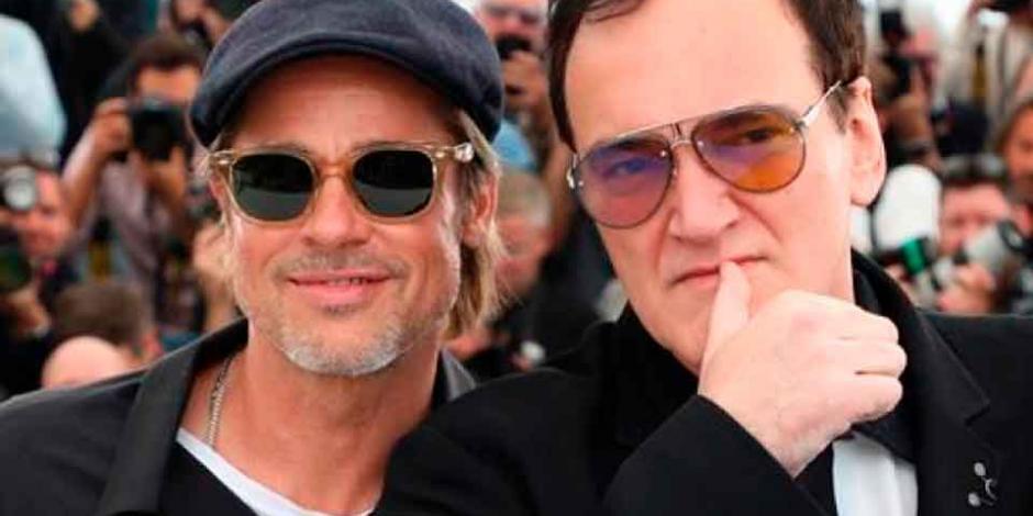 Brad Pitt defiende a Tarantino y asegura que no es misógino