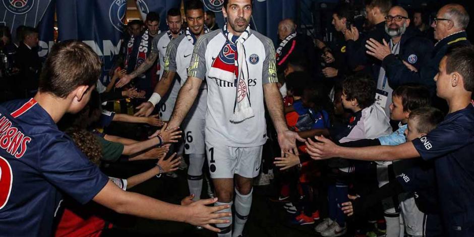 ¡Saquen los euros!... Buffon no renovó y abandona al PSG