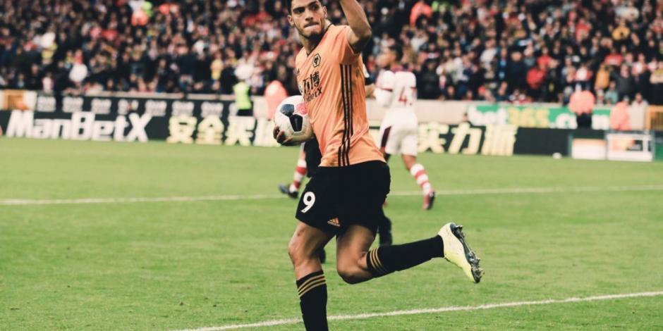 Raúl Jiménez, nominado a jugador del mes en la Premier League