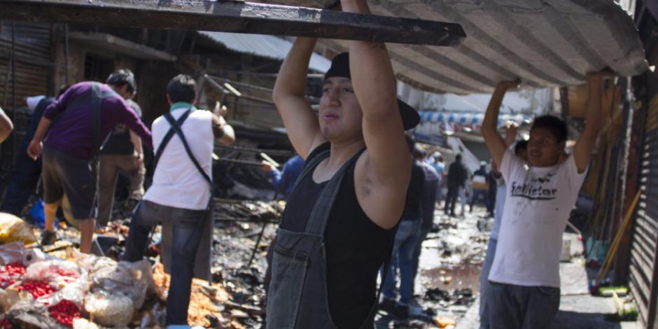 El mercado de La Merced, su gente y sus incidentes (FOTOS)