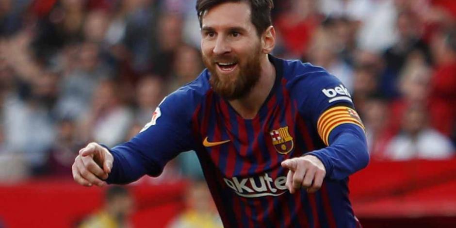 Con hat-trick y asistencia de Messi, Barcelona vence 4-2 al Sevilla