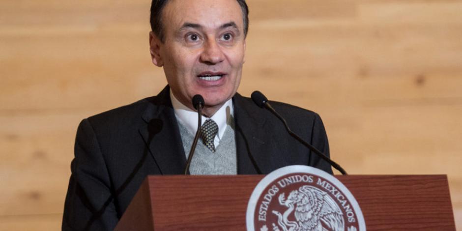 Próximos a tener éxito en captura de líderes del cártel de Santa Rosa de Lima: Durazo