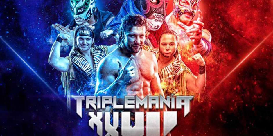 Lista la cartelera de Triplemanía XXVII