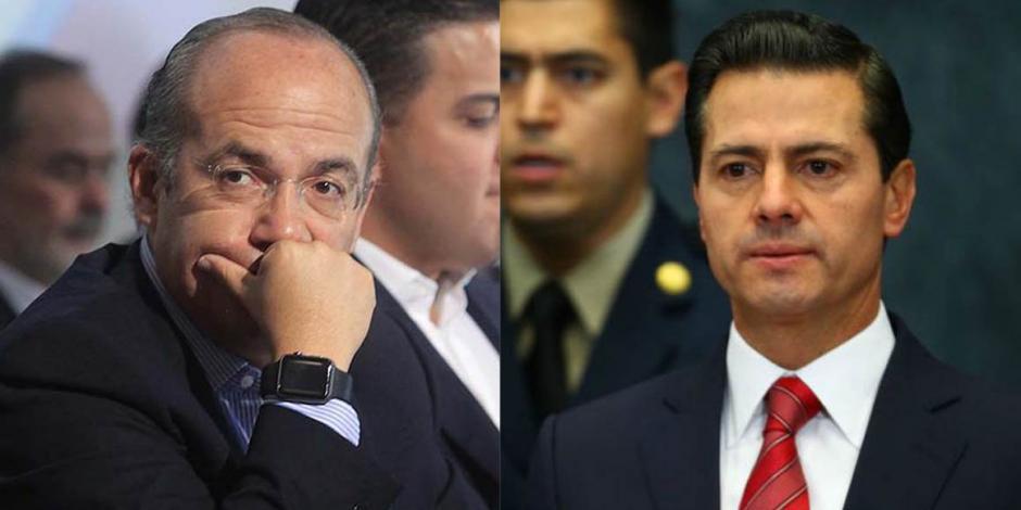 Ordenan a PF revelar a qué funcionarios escoltó con Calderón y Peña