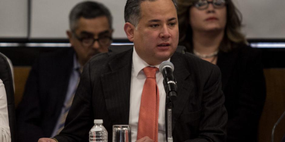 Inhabilitación de Lozoya, señal de cero tolerancia a corrupción, destaca Santiago Nieto