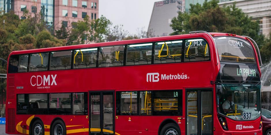 Metrobús dará servicio toda la noche a los Reyes Magos