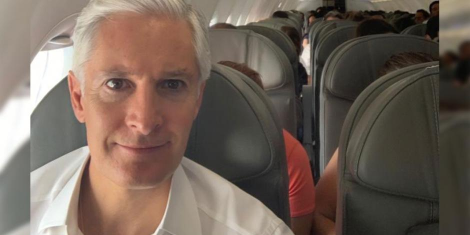 Del Mazo listo para acudir a evento de López Obrador
