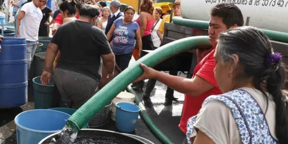Del 25 al 27 de junio, habrá corte de agua en 30 colonias de CDMX