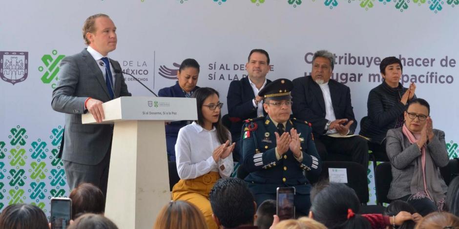 Alcalde de Benito Juárez reconoce coordinación contra robo a casa-habitación