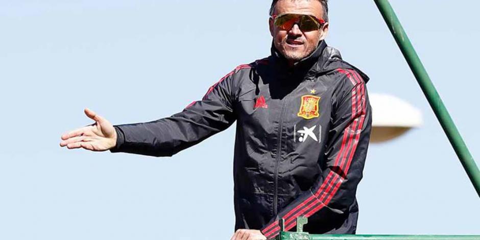 Luis Enrique llevó a la Selección de España a la 'guerra'