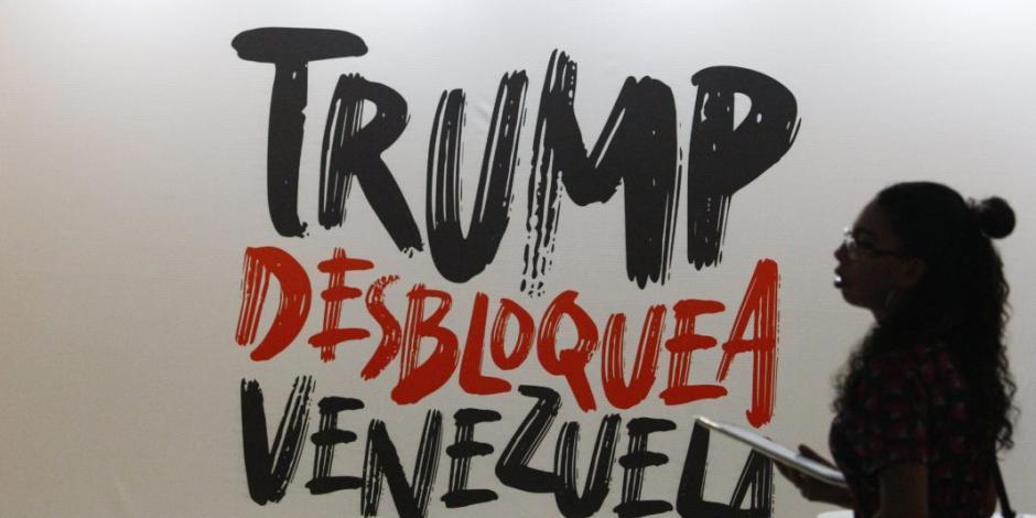 Amenaza Trump con aumentar bloqueo económico y político a Venezuela