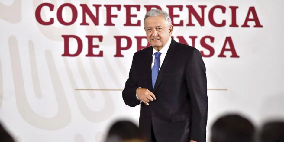 Gobierno no investiga a EPN, asegura López Obrador
