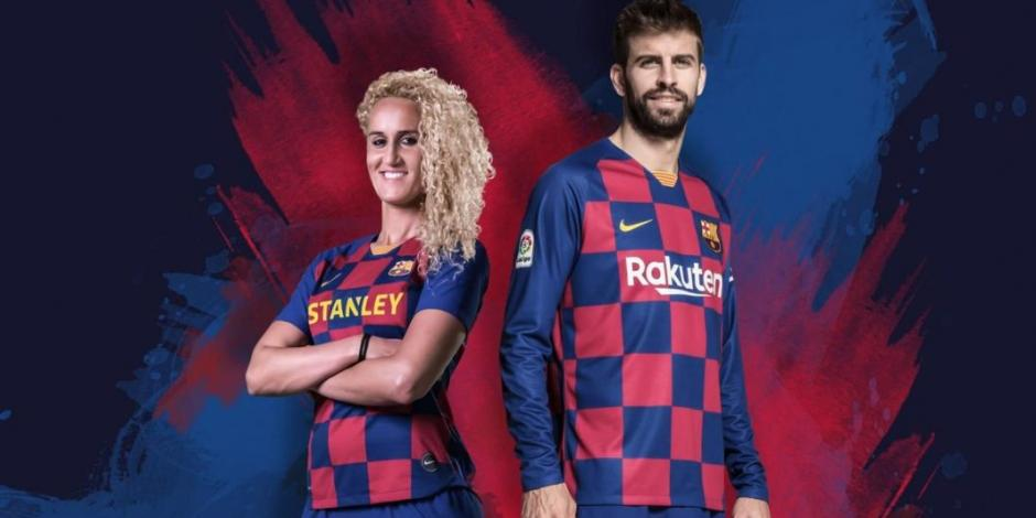Barcelona revela su nueva playera para la próxima temporada