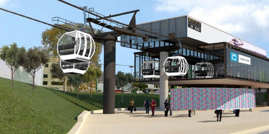 Anuncian invitación restringida a 4 empresas para construcción de Cablebús